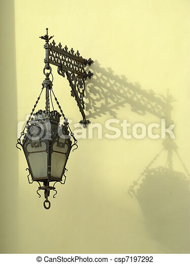 Wall-mounted lantern - csp7197292