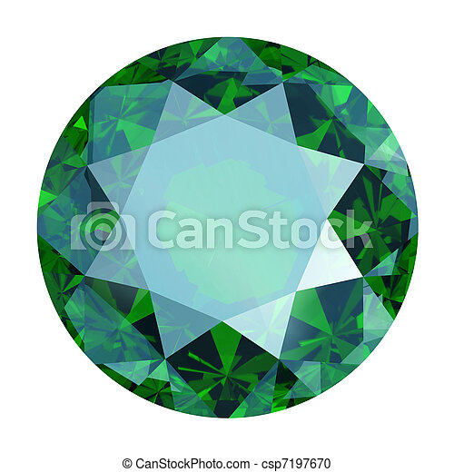 Round emerald - csp7197670