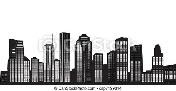 Houston - csp7199814