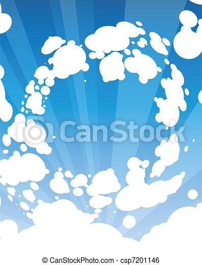 Sky and sunlight - csp7201146