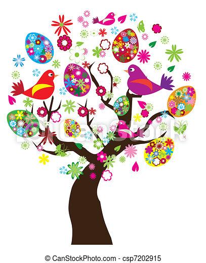 Easter tree - csp7202915