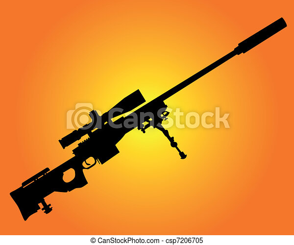 sniper rifle - csp7206705