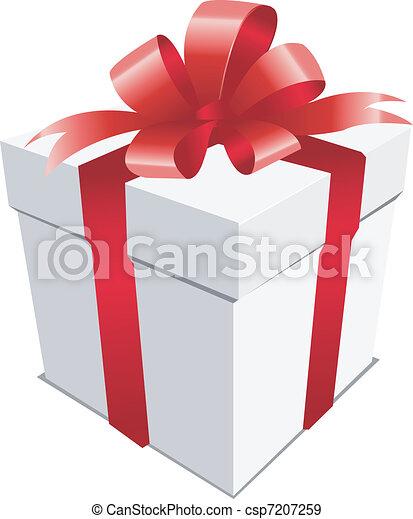 christmas present - csp7207259