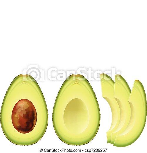 Avocado. - csp7209257