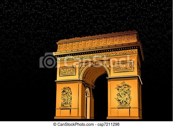 Arch of Triumph - csp7211298