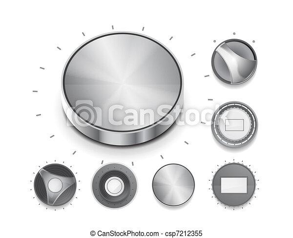 Vector volume switch knob - csp7212355