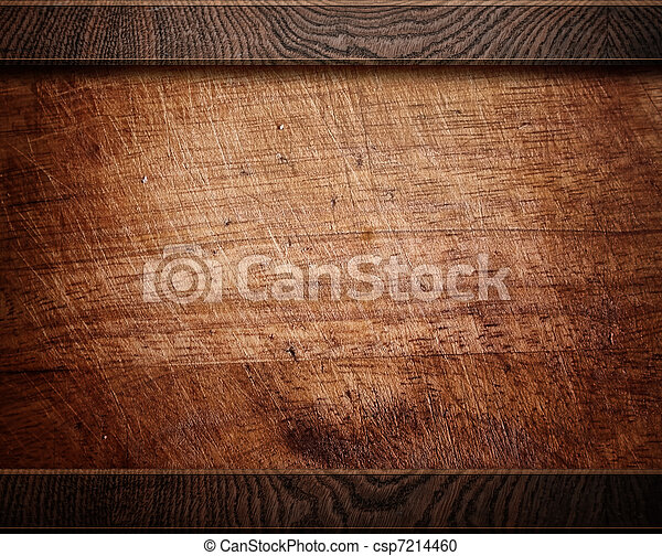 wood background texture (antique furniture) - csp7214460