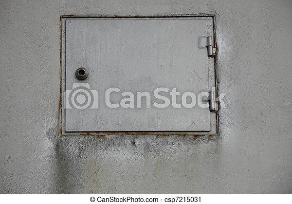 grunge industry metal door  - csp7215031