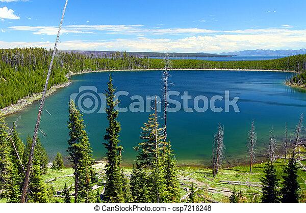 Duck Lake - Yellowstone NP - csp7216248