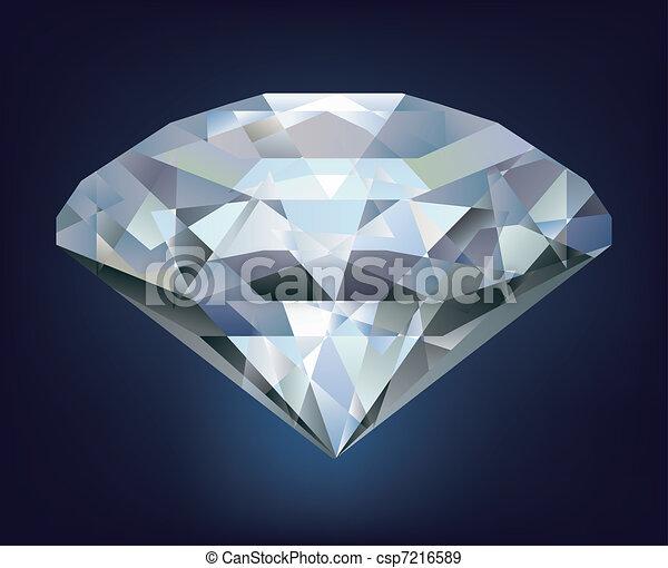 how to draw a realistic diamond