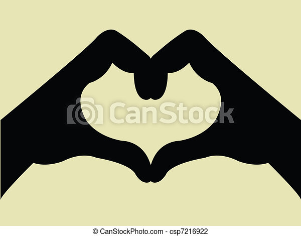 Heart Shape Hand Gesture - csp7216922
