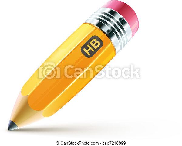 yellow pencil - csp7218899