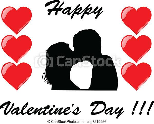 Valentine's Day - vector - csp7219956