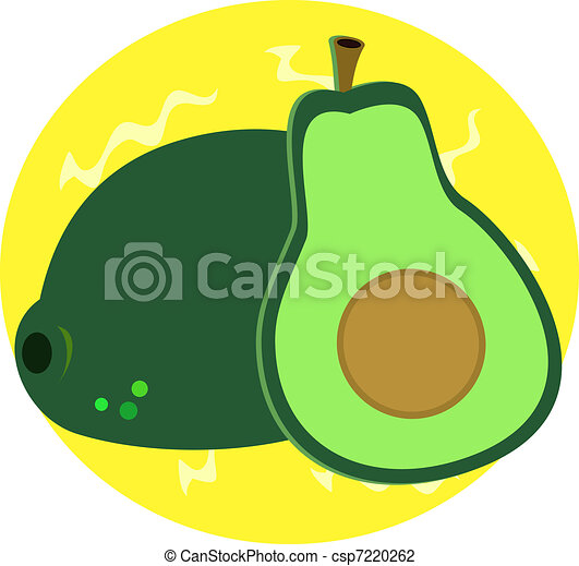 Delicious Avocado - csp7220262