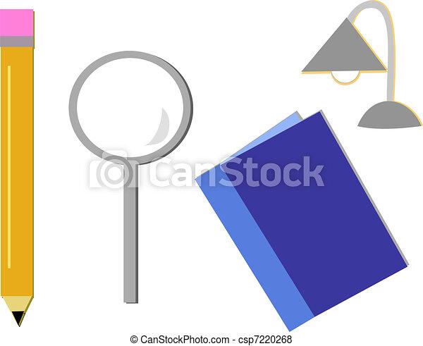 Mix of Study Tools - csp7220268