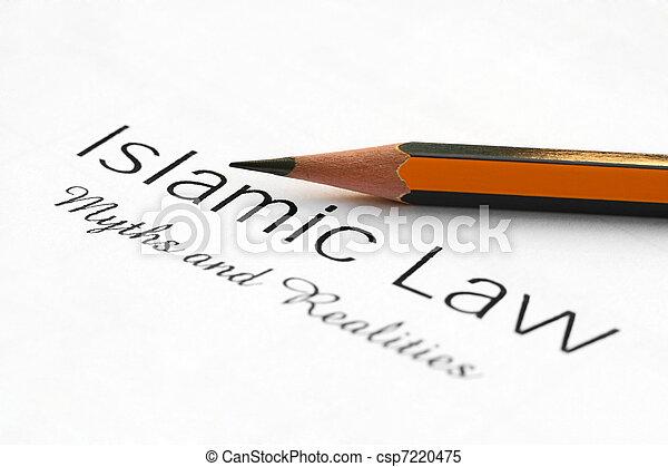 islamic, lei - csp7220475
