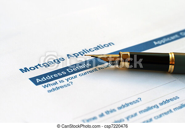 Mortgage application - csp7220476