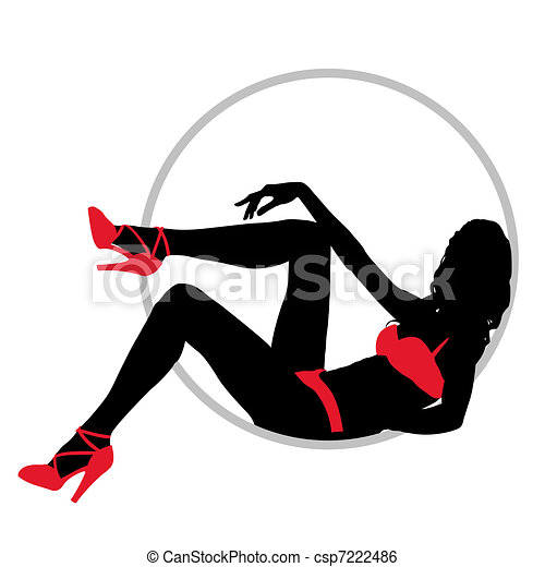 The girl in swimsuit - csp7222486