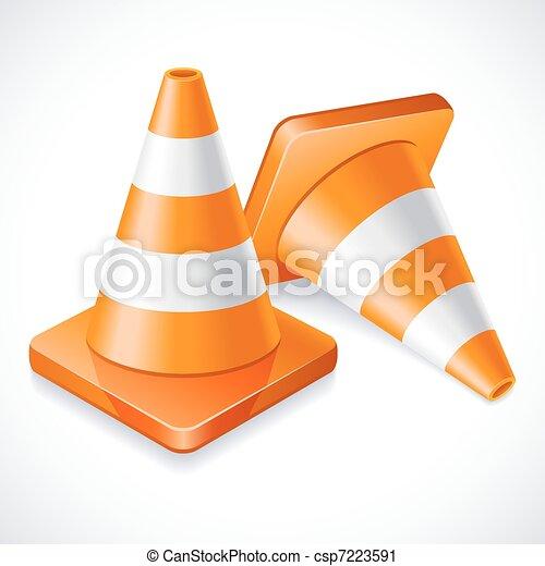 Traffic cones - csp7223591