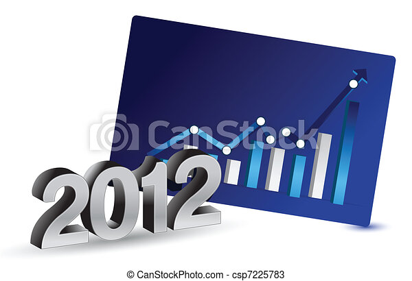 2012 Growth in business - csp7225783