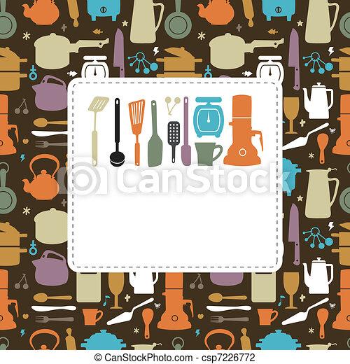 kitchen card  - csp7226772