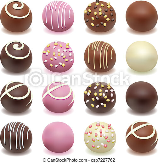 chocolate candies - csp7227762