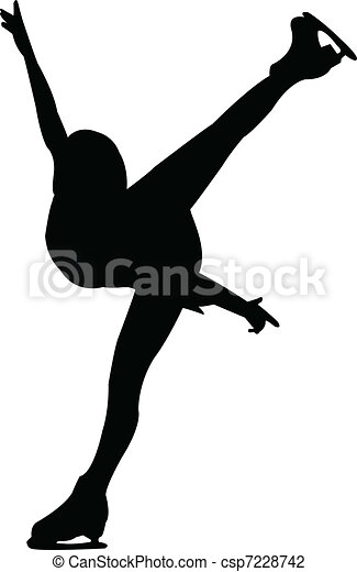 Figure skating - csp7228742