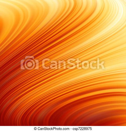 Glow Twist with fire flow. EPS 8 - csp7228975