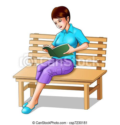 Girl Illustration Drawing Illustration of a Girl Sitting
