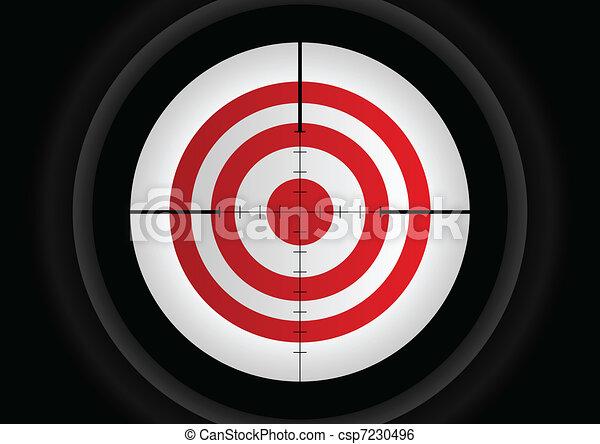 Aiming Target - csp7230496