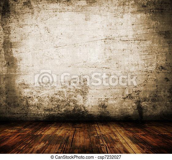 Grunge wall  - csp7232027