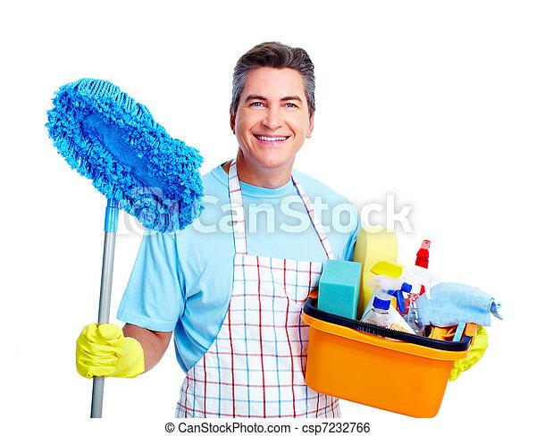 Housework. - csp7232766