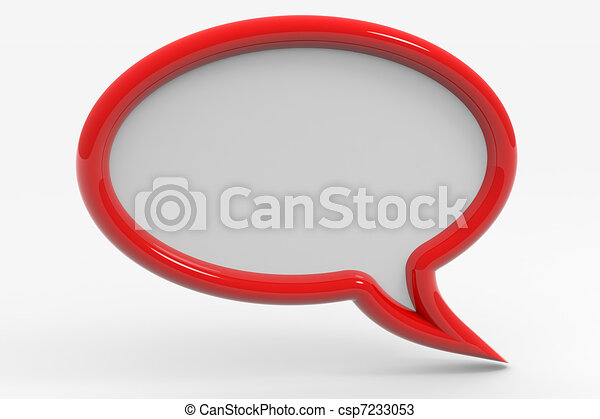 Bubble talk - csp7233053