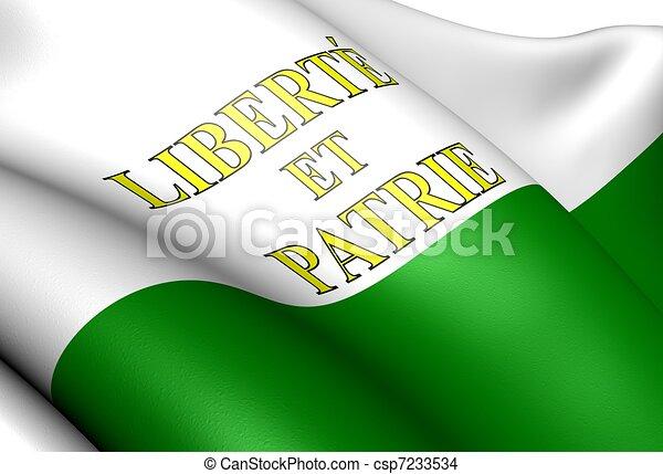 Flag of Vaud - csp7233534