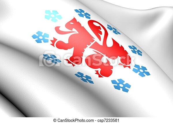 German-speaking Community of Belgium flag - csp7233581