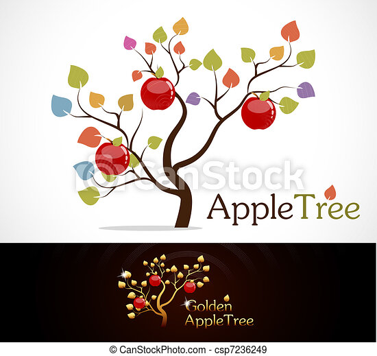 Apple tree - csp7236249