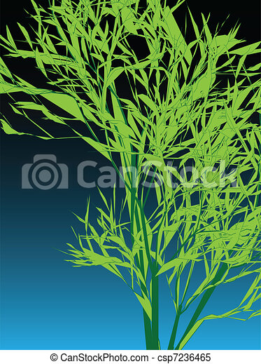Bamboo abstract background vector i - csp7236465