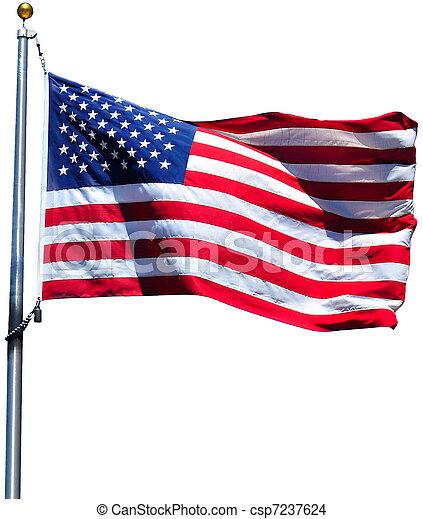 American Flag - csp7237624