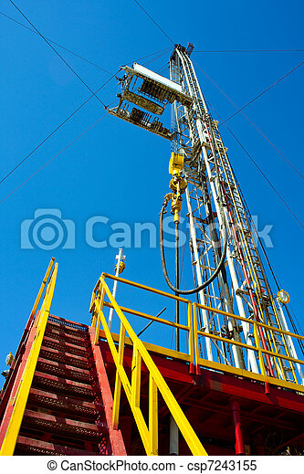 Land drilling rig. - csp7243155