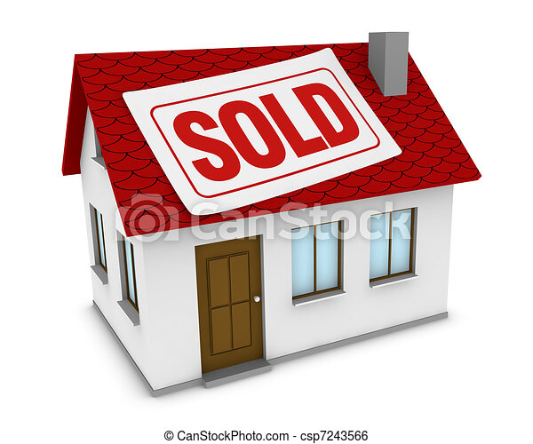 house sold - csp7243566