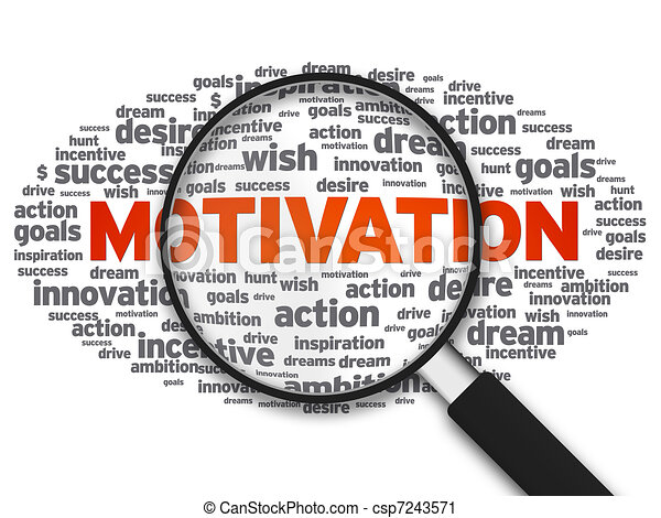 Magnifying Glass - Motivation - csp7243571