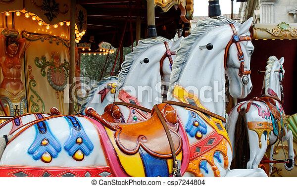merry-go-round  - csp7244804