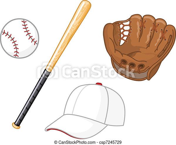 Baseball elements - csp7245729