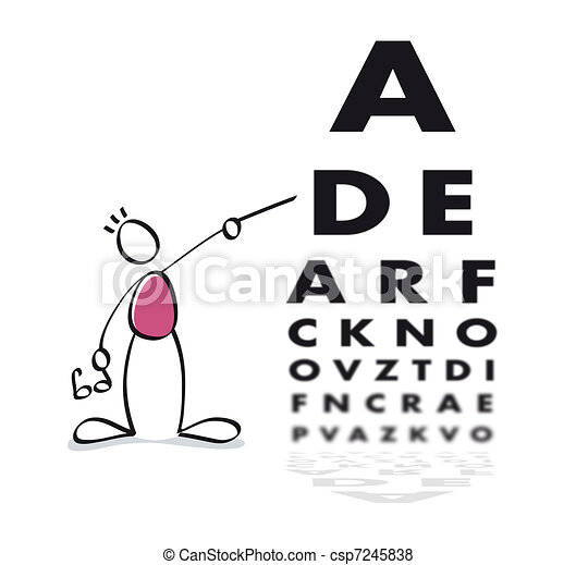 Funny vision test - csp7245838