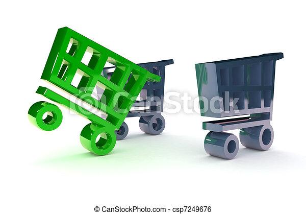 Retail Success - csp7249676
