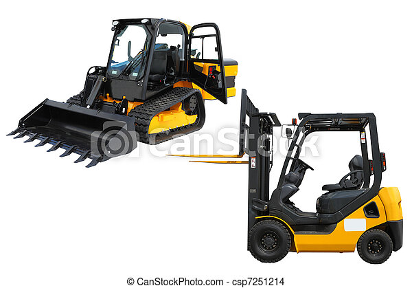 mini-tractor and loader - csp7251214