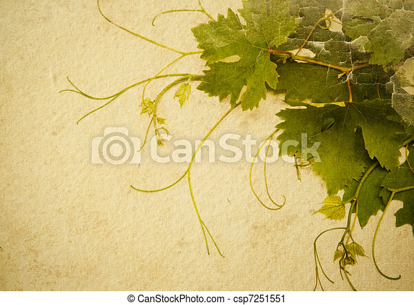 abstract vintage style background to design a wine list - csp7251551