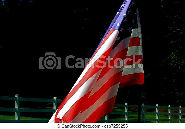 Old Glory - csp7253255
