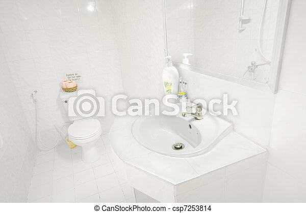 Schoonmaakazijn badkamer