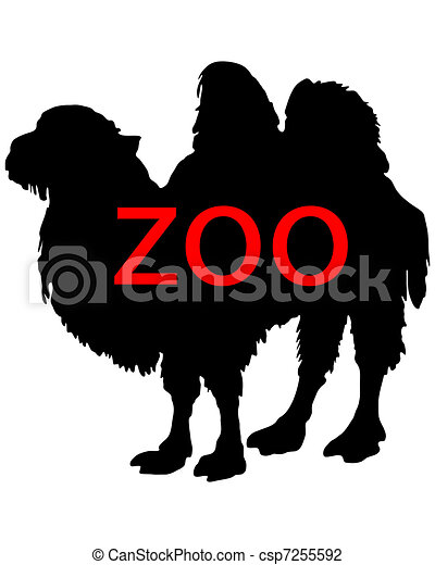 Zoo animals - csp7255592